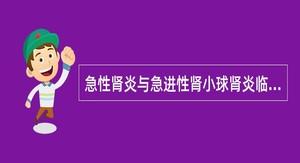 急性肾炎与急进性肾小球肾炎临床相似之处为()