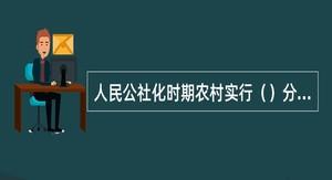 人民公社化时期农村实行()分配制度